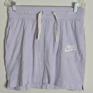 Nike Women's Sportswear Purple Vintage Gym Skirt